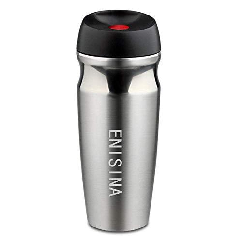 Enisina Tasse Isotherme, Bouteille Isotherme, Tasse De Voyage 350ML B10-35 0 en Acier Inoxydable pour Café Et Autres Boissons Chaudes