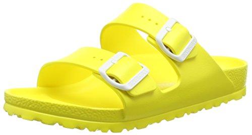 BirkenstockArizona EVA - Ciabatte Donna , Giallo (Gelb (Neon Yellow)), 38