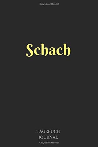Schach: Notizbuch, Linierte Seiten, 6x9 Inch, Journal, Schach