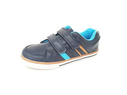 Zenden, sneaker bambini blu marina militare, blu (marina militare), 35 eu