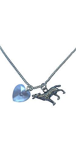 Wolf und Herz Halskette (Twilight Edward Halskette)