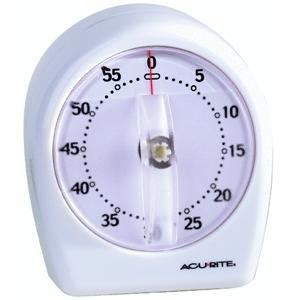 Chaney Instrument 00957A2 Short Ring Timer-WHITE TIMER Chaney Timer