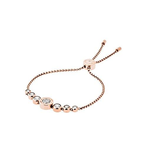 Michael Kors Damen-Armband Edelstahl roségolden