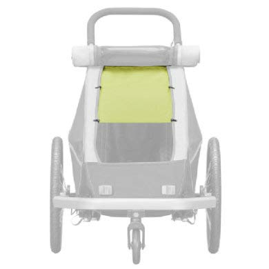 Croozer Sonnensegel f. Kinderanh.Kid/Kid P.f.1 f. Kid/Kid Plus for 1,Lemon gr