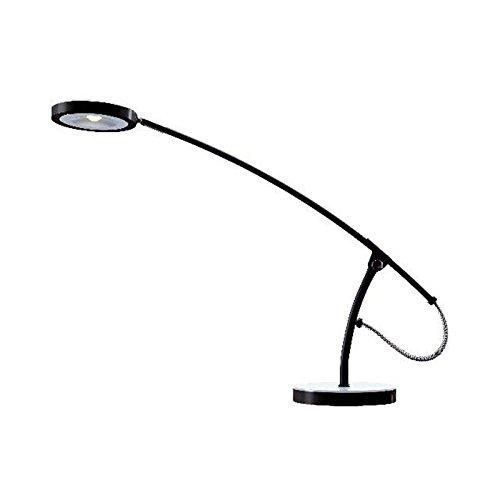 Hansa Schreibtischleuchte LED Frisbee schwarz/weiß