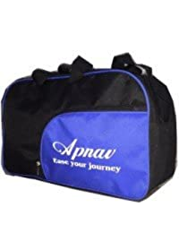 Apnav ABBlack Small Travel Bag - Medium(Blue, Black)