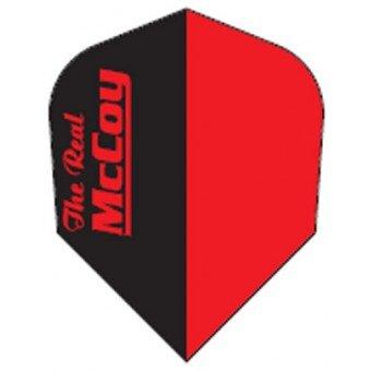 Plumas mccoy standard rojo negro mc-o10