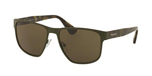 Prada Sonnenbrille 55SSSUN_UF44J1 (55 mm) grün