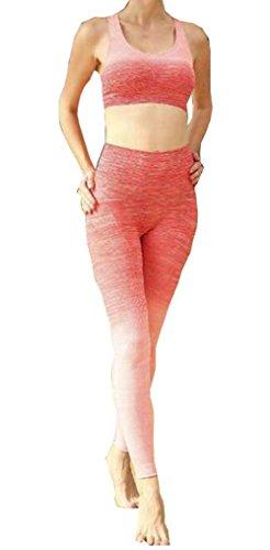 Harem Yoga -  Completo sportivo  - Donna Orange