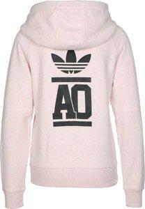 adidas AJ7686 Sweat-shirt Femme Bleu/Blanc