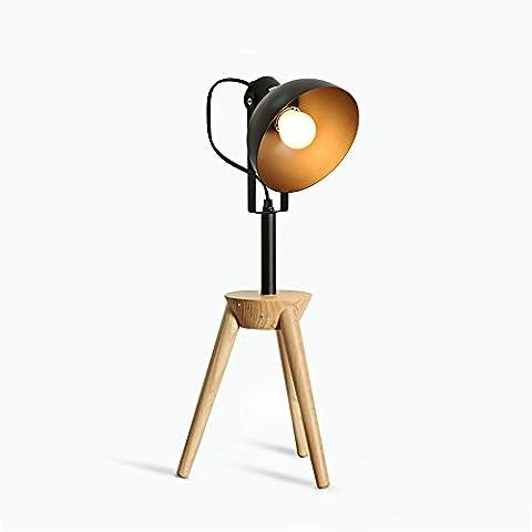 XCH Dazzling DL-Eisen Kunst Retro Schreibtisch Lampe E27 Lichtquelle Hohe