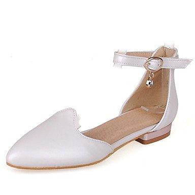 Zormey Frauen Schuhe Niedrigem Absatz/D'Orsay & Amp Zweiteilige/Schuhe Heels B¨¹ro & Amp Karriere / Kleid Schwarz/Rosa/Wei? US5 / EU35 / UK3 / CN34
