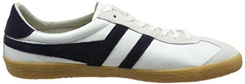 Gola Specialist Leather, Sneaker Uomo Bianco (White/navy/gum)