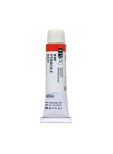 Holbein-palette (Holbein Artists Watercolor Pyrrole Red 5ml by Holbein Artists Watercolor)