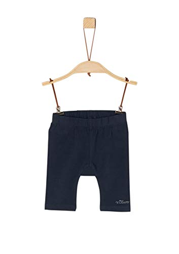 s.Oliver Baby-Mädchen 59.906.75.5015 Shorts, Blau (Dark Blue 5834), (Herstellergröße: 62/REG)
