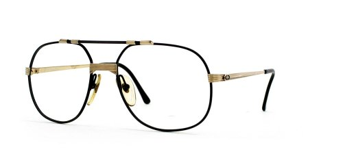 Christian Dior Herren Brillengestell Schwarz Black Gold (Christian Eyeglasses Black Dior)