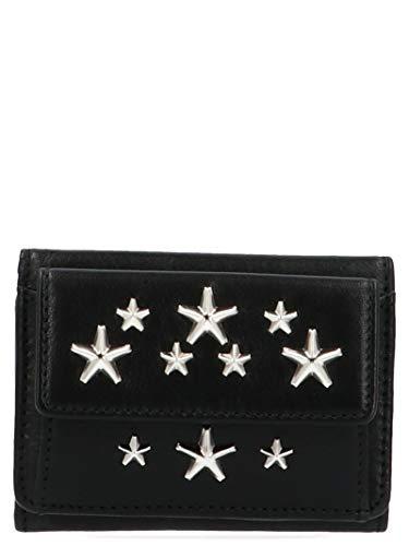 Jimmy Choo Luxury Fashion Donna NEMOCSTBLACK Nero Portafoglio | Autunno Inverno 19
