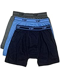 3b13f74e3f34 VIP Ultima Men's Cotton Trunk Pack of 3 (Size -100cm) in Assorted Colors