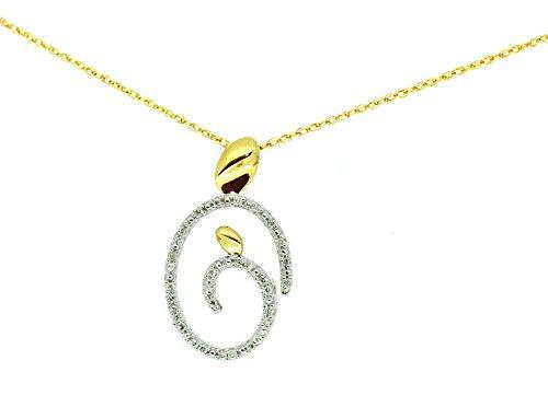 010-ct-diamante-collana-in-oro-giallo-10-k