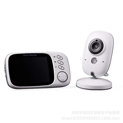 Digitale Video-babyphone (Bangcool Babyphone HD Video Drahtlos Innen Babyphone mit Digital Kamera)