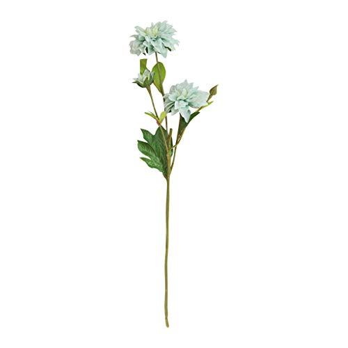 VWTTV künstliche Pflanze gefälschte Blätter Dahlie künstliche Blume Hersteller Dekoration Hochzeit Holding Blumen Straße führen Blume Family Office Garten Blume Hochzeitsdekoration