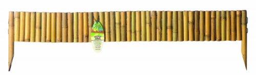Gardman-Palo in legno di bambù naturale, Hurdle-09264) - Naturale Lawn Care