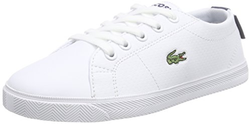 Lacoste MARCEL LACE UP 116 3 SPC Unisex-Kinder Sneakers Mehrfarbig (WHITE/NAVY 042)