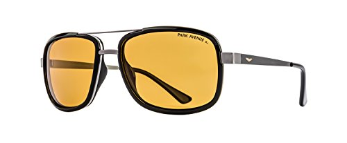 Park Avenue Palarized Square Men's Sunglasses (PA-7115-C2)  available at amazon for Rs.2950