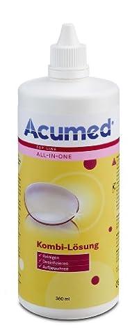 Acumed Kombi-Lösung, 6er Pack (6 x 360 ml) (Desinfizieren Von Kontaktlinsen)