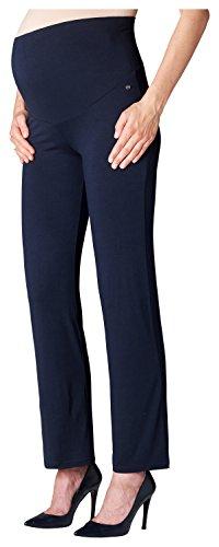 Esprit Maternity Damen Pants Jersey OTB M84120 Umstandshose, Blau (Night Blue 486), 38 (Herstellergröße: M)