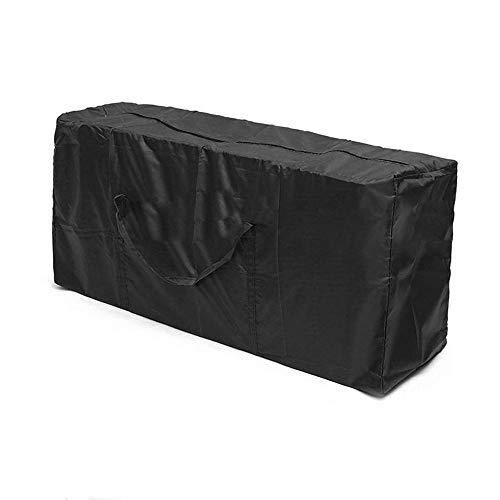 KOBWA Wasserdichte Kissen Aufbewahrungstasche Outdoor Terrasse Möbel Sitzbezüge Leichte Tragetasche für Outdoor Garten Kissen Pad 173x 76x 51 cm