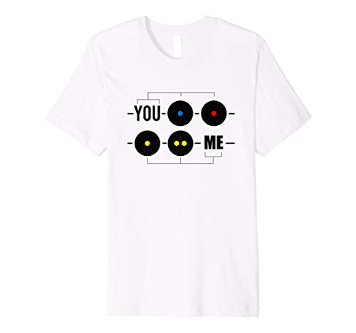 Squash Ball T-Shirt Racquetball Lustig