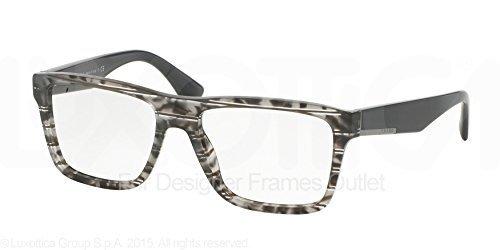 Grüne quadratische Designer Sonnenbrillen Eyewear Kollektion Prada