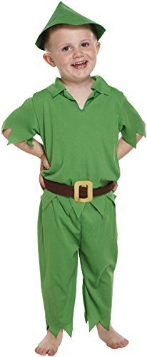 Peter Pan Kinder Kostüm Age 3