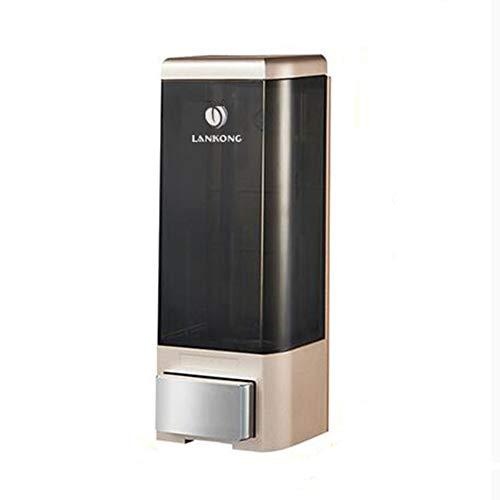 Dispensador de jabón, desinfectante de Manos Manual Montado en la Pared Dispensador de jabón Baño del hogar del Hotel: Puede Contener 500 ML