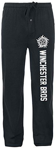 supernatural-winchester-bros-bas-de-pyjama-noir-m