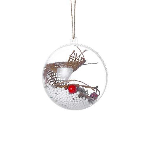 2018 New Fashion Design Christmas Tree Pendant Hanging Home Ornament Christmas Decoration Ball Light Drop Shipping -
