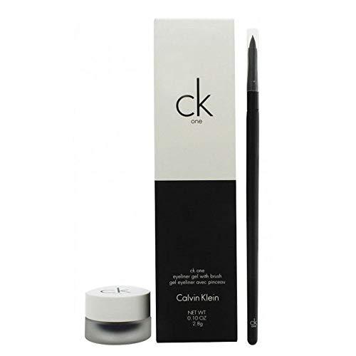Calvin Klein CK One Cosmetics Set 2.8g Eyeliner Gel in Double Expresso + Pinsel -
