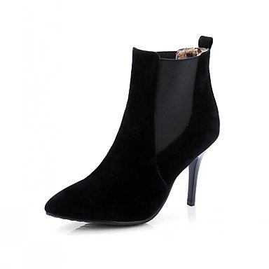 Moda Donna Sandali Sexy donna tacchi Primavera / Western Stivali / Neve / Stivali Stivali da cavallo / Moda / STIVALI DA MOTO Black