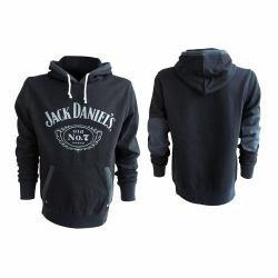 Preisvergleich Produktbild Jack Daniel's Old No. 7 Kapuzenpulli schwarz XXL