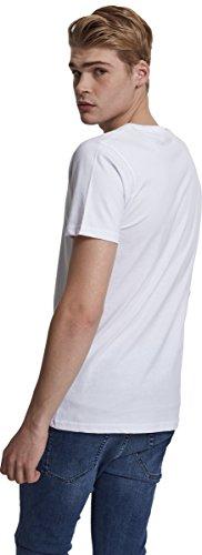MERCHCODE Herren Simpsons Boring Tee T-Shirt White