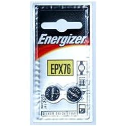 Energizer SR44/epx76-c2Piles bouton oxyde d'argent Piles de 2