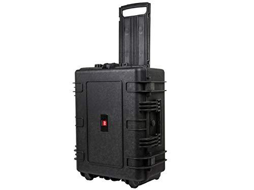 Monoprice wetterfest Hard Case mit Rädern und anpassbare Schaum, 63,5x 48,3x 27,9cm -
