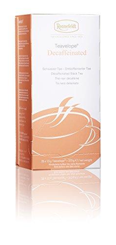 Ronnefeldt Teavelope Decaffeinated, Entkoffeinierter Schwarzer Tee, Teebeutel (25 x 1,5 g)