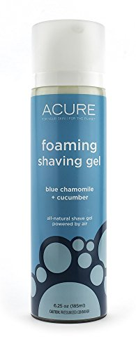 Foaming-Shaving-Gel-Blue-Chamomile-Cucumber-Acure-Organics-UK-Seller