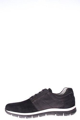Nero Giardini Homme-SNEAKER A503721U 100 Baskets Mode Noir - noir