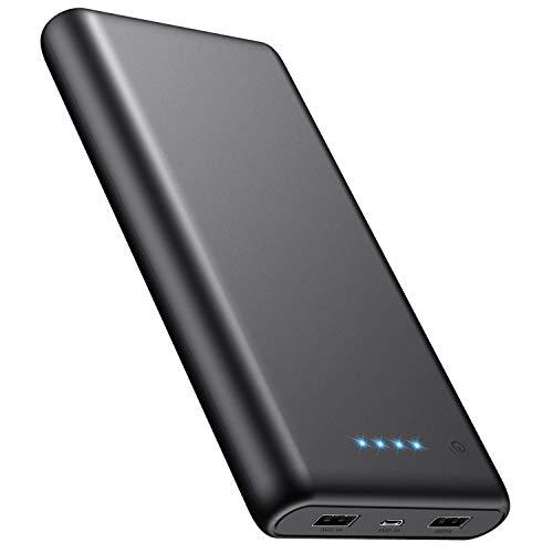 iPosible Batería Externa, Power Bank [24800mAh] Cargador
