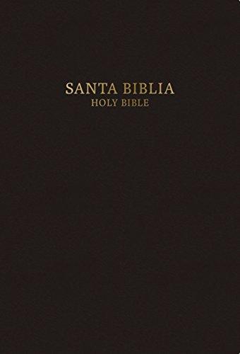 Rvr 1960 Kjv Biblia Biling E Tama O Personal Negro Tapa Dura Spanish Edition