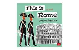 legami 30x 29cm'Aphorisms 2017Uncoated Paper calendar-p Questa è Roma (This Is Rome)