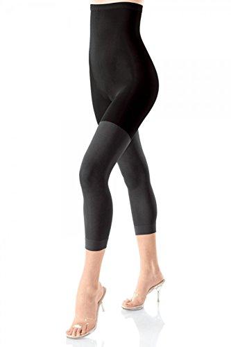 Spanx-nylon-strumpfhosen (Spanx Super Footless Shaper Gr. M, Schwarz (Black))